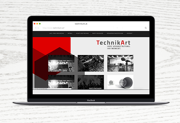 Technik Art Screendesign